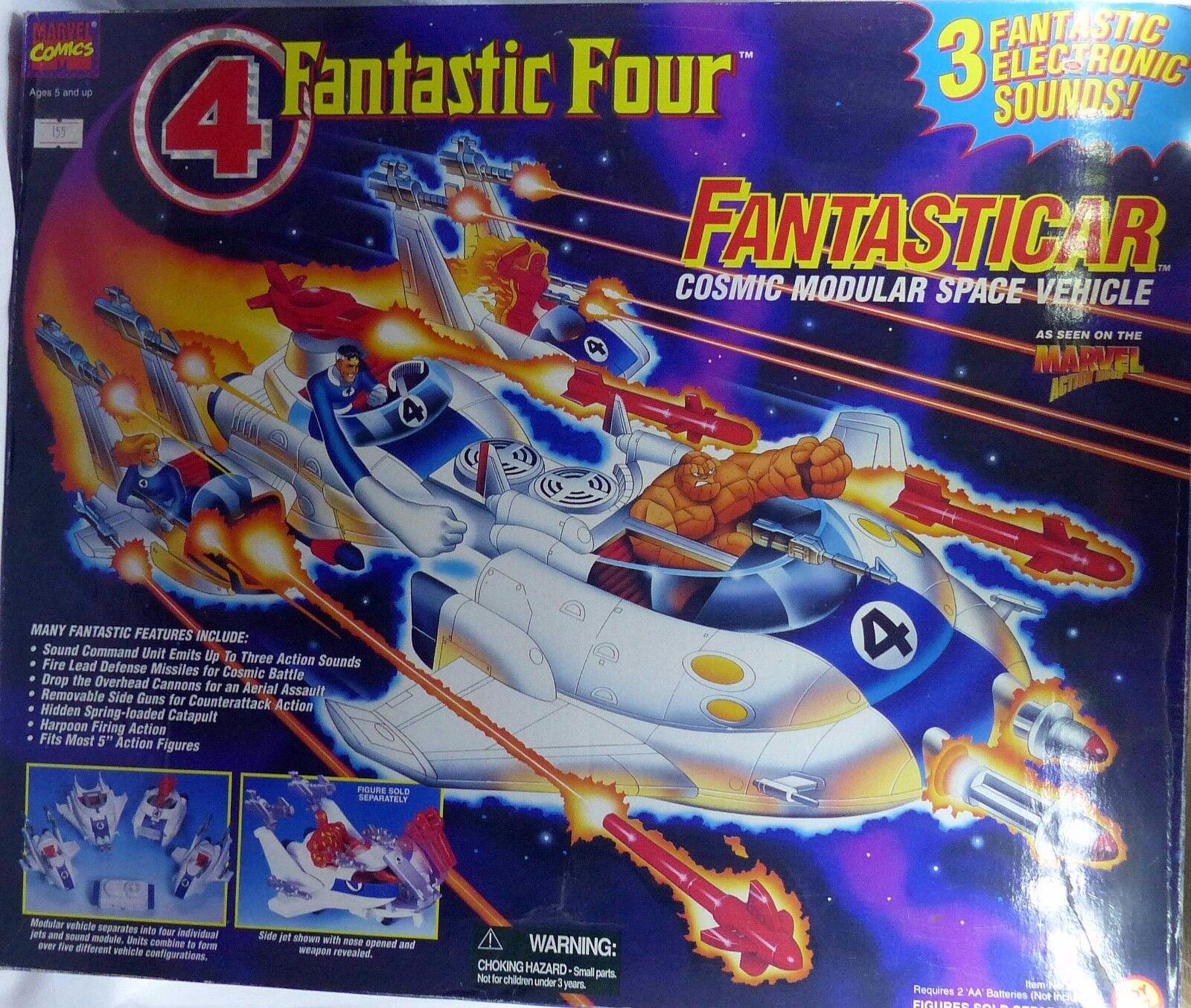 FANTASTIauto FANTASTICI  4 NUOVA VINTAGE 1995 BY giocattolo BIZ MARVEL IMPORT FROM USA  design semplice e generoso