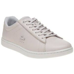 Carnaby Lacoste Up Femmes Pink Nouveau Baskets Leather Pink Lace EqpSxIw