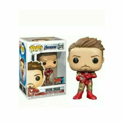 FUNKO POP The Avengers Marvel Iron Man #529#338 Et Tony Stark #225 vinyle Figure