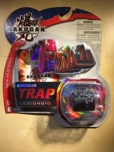 Bakugan Legionoid Black New Vestroia Trap Pack, FREE shipping (Last One