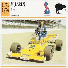 1971-1976 McLAREN M16 Racing Classic Car Photo/Info Maxi Card