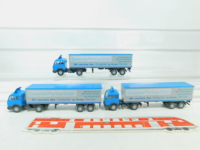 Mb Computer Partner Bn72-0 1:87 Lorry Mercedes 5 #3x Wiking H0 Mint For Improving Blood Circulation