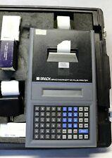 Brady Bradymarker Xc Plusprinter With Labels In Hard Case