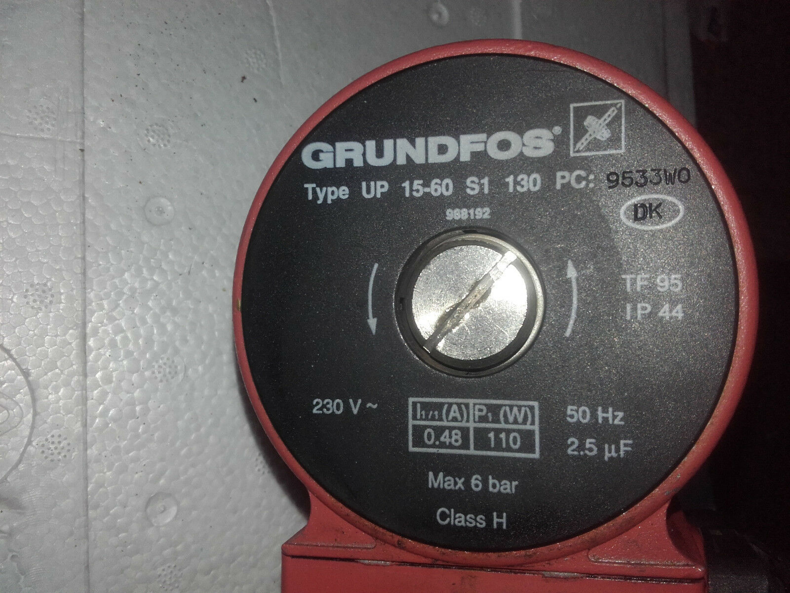 Grundfos UP 15-60 S1 130 Heizungspumpe Umwälzpumpe Umwälzpumpe Umwälzpumpe 5b33ef