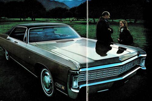 1970 Imperial LeBaron Crown Hardtop Vintage Dealer Sales Brochure