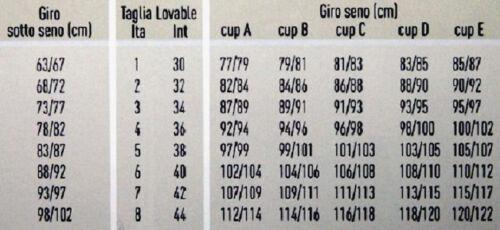 LOVABLE REGGISENO Lov/'Concept BASIC 15260 SENZA FERRETTO ALTO SOSTEGNO MORBIDO