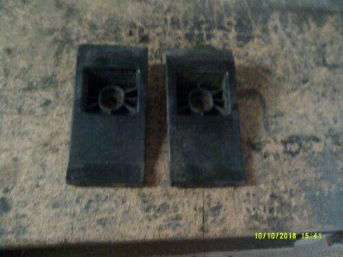 XJ8 Bumper Brackets PAIR 1994-2002 X308 XJ6 XJ8 XJR JAGUAR