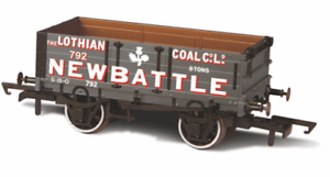 Oxford Rail OR76MW4005 Lothian Coal Co 4 Plank Wagon No 792 OO Gauge