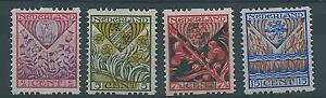 1927TG-Nederland-Roltanding-Tweezijdig-R78-R81-postfris-mooie-serie