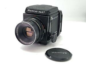 Quase-perfeito-Mamiya-RB-67-Profissional-Com-Sekor-NB-127mm-f3-8-Do-Japao
