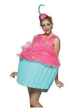 Adult Cupcake Sweet Food Costume (Standard) Fancy Dress Brand New