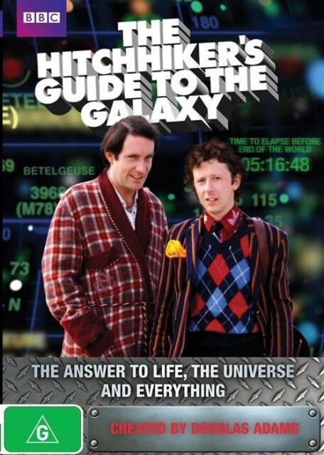 🆕 NEW The Hitchhikers Guide To The Galaxy DVDR4