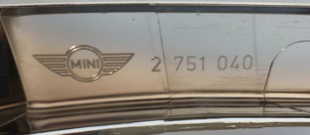 Genuino Nuevo Mini Sombrero Recortar//moldeo de cromo para R56 R55 R57 R58 R59-2751040