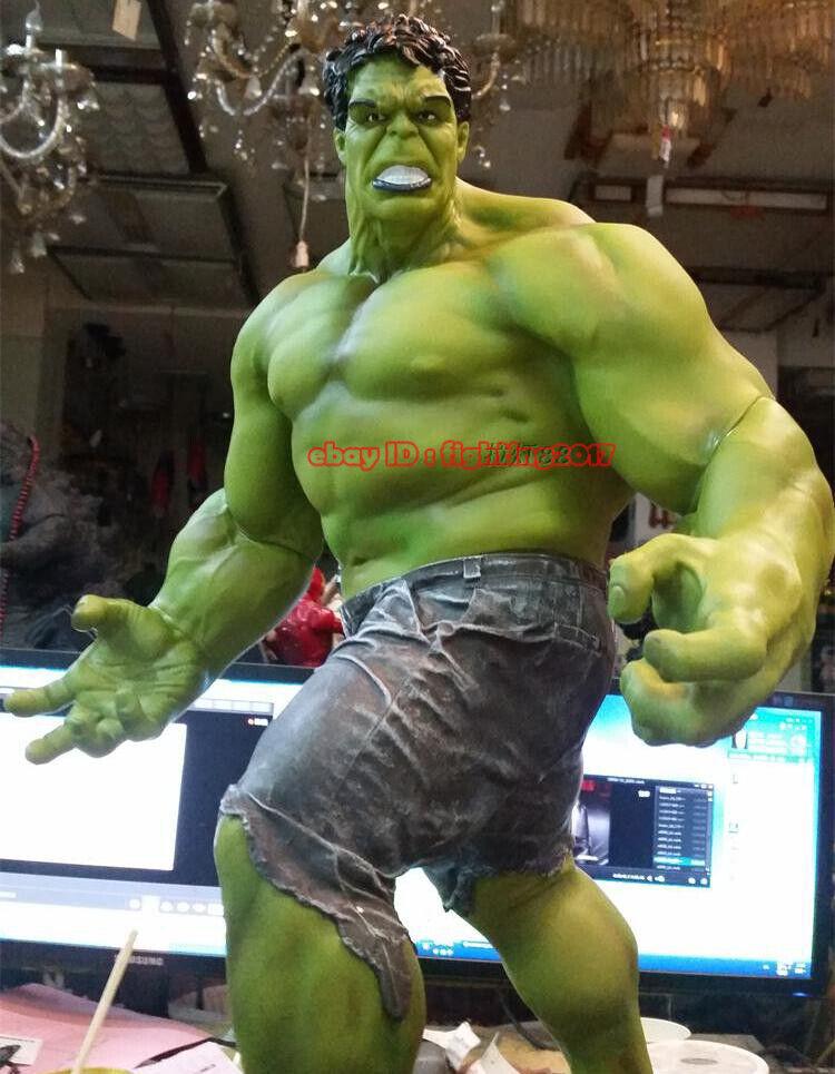 costo real súper Tamaño Gigante Gigante Gigante Marvel Hulk verde Giant figura estatua 25  escala 1 4 Juguete Nuevo  el más barato