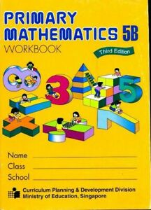 Primary mathematics 5B workbook - Collectif - Livre - 480810 - 2156849