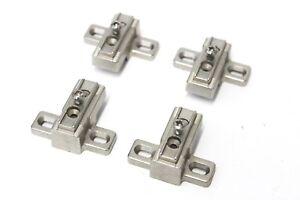 4 Stück HETTICH Kreuzmontageplatte Montageplatte für Topfscharnier Türscharnier