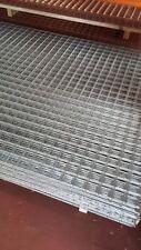 "3X Galvanised Welded Wire Mesh Panels 72"" x 48"" 2"" x 2"" x 2.50mm (183cmx122cm)"