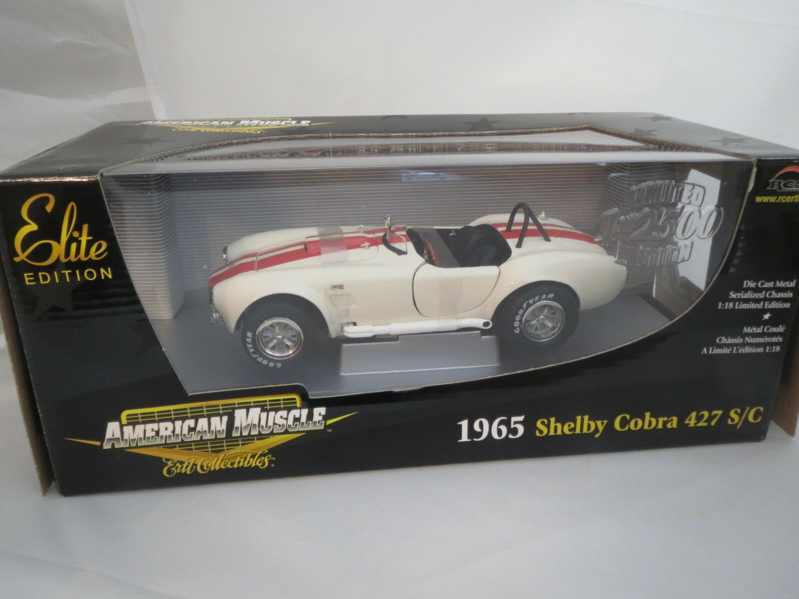 Ertl American Muscle 33965 Shelby Cobra 427 Sc 1965 118 Ovp Ovp
