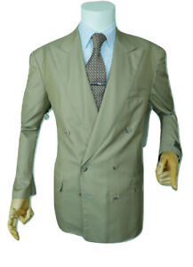 Giacca Olive 42 Breasted Designer Double 52 New Eu Belvest Blazer italiana Uk gqr7xgFBw