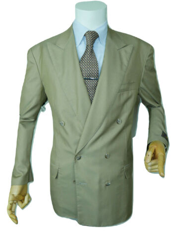 Giacca Belvest italiana Olive Double Eu 52 42 Blazer Designer Breasted New Uk rrqwgdxH