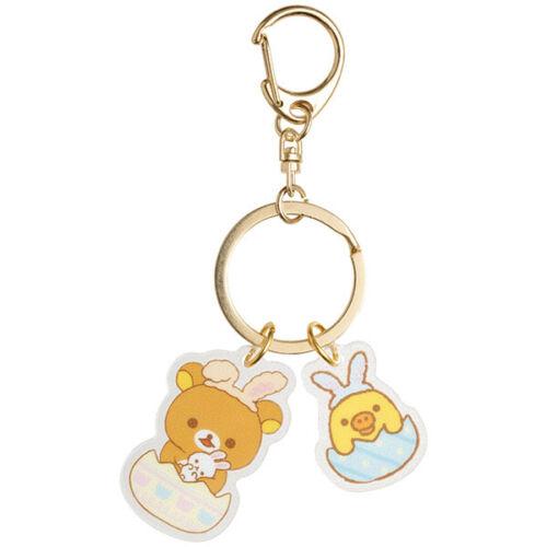 Rilakkuma /& Kiiroitori Yellow Chick Keychain Key Holder San-X Japan Easter