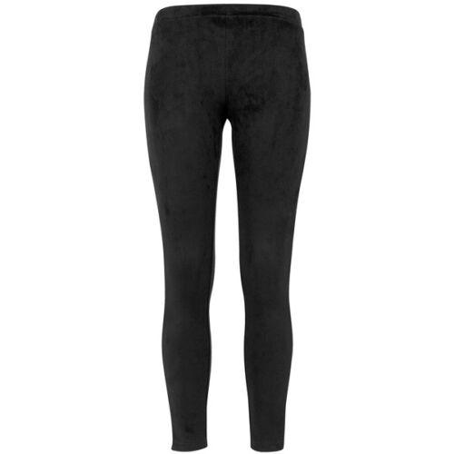 Urban Classics Ladies Imitation Suede Leggings Damen Hose black TB1357-00007