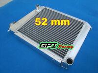 52mm Aluminum Radiator For Mini Cooper S,morris Moke,race/rally 1959-1996 60 61