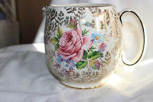 Sadler-Milk-Pink-Rose-Gold-Rim-Creamer-Jug-12-cm