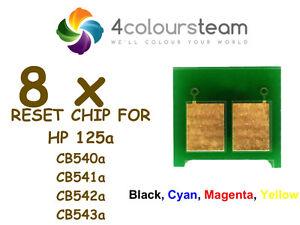 8x-chips-de-reinicio-de-toner-2-Juegos-Para-Hp-125a-CP1215-CP1515N-CP1518NI-CM1312mfp-CB540