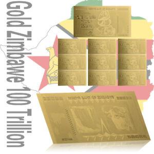 WR-Zimbabwe-100-Trillion-Dollar-Gold-Foil-Banknote-10PCS-Gift-Set