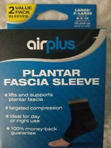 07a22d7738 Airplus Plantar Fascia Sleeve S/M Men's Up To 8 Women's 5 - 10 New ...