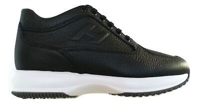 Hogan scarpe uomo sneaker interactive h rilievo HXM00N09041L11B999 ...