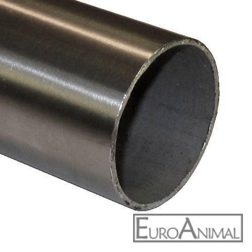 Edelstahl Rohr 26,9x2 V2A Stahlrohr Rundrohr VA  Länge 500mm bis 3x2000mm 1.4301