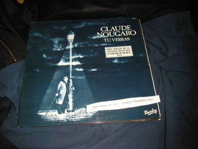 LP Chanson Claude Nougaro - Tu Verras BARCLAY  / OIS