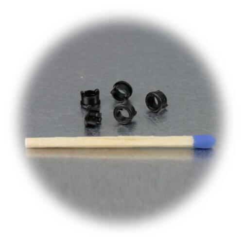 20x LED Anelli Montaggio F 3mm LED Versione Plastica Clip
