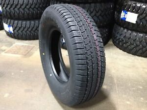 2 New St 225 75r15 Super Cargo 10 Ply Radial Trailer Tires R15 75r