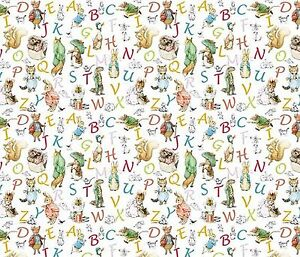 dollhouse miniature beatrix potter peter rabbit abc wallpaper 1 12