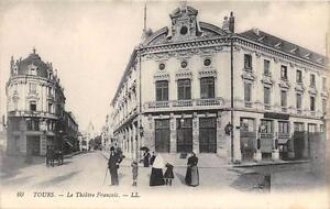 CPA 37 TOURS LE THEATRE FRANCAIS