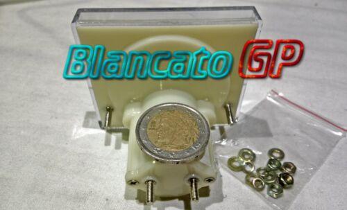 VOLTMETRO ANALOGICO da PANNELLO 20V DC 56x64 classe 2.5 batteria alimentatore