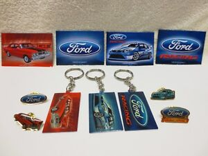 FORD-KEY-RINGS-MAGNETS-amp-LAPEL-PINS-XY-GT-BF-FPV-amp-RACING-LICENSED-PRODUCT-NEW