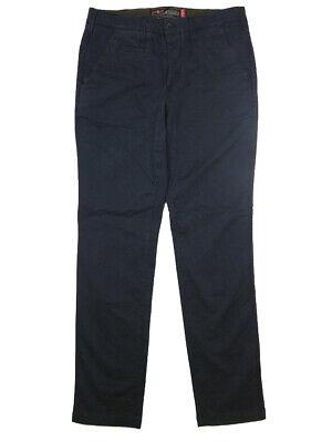 Coscienzioso Pantaloni Uomo Jaggy Habana Tg W 34 It 48 Chino Blu Cotone Stretch Slim Nuovo Domanda Che Supera L'Offerta
