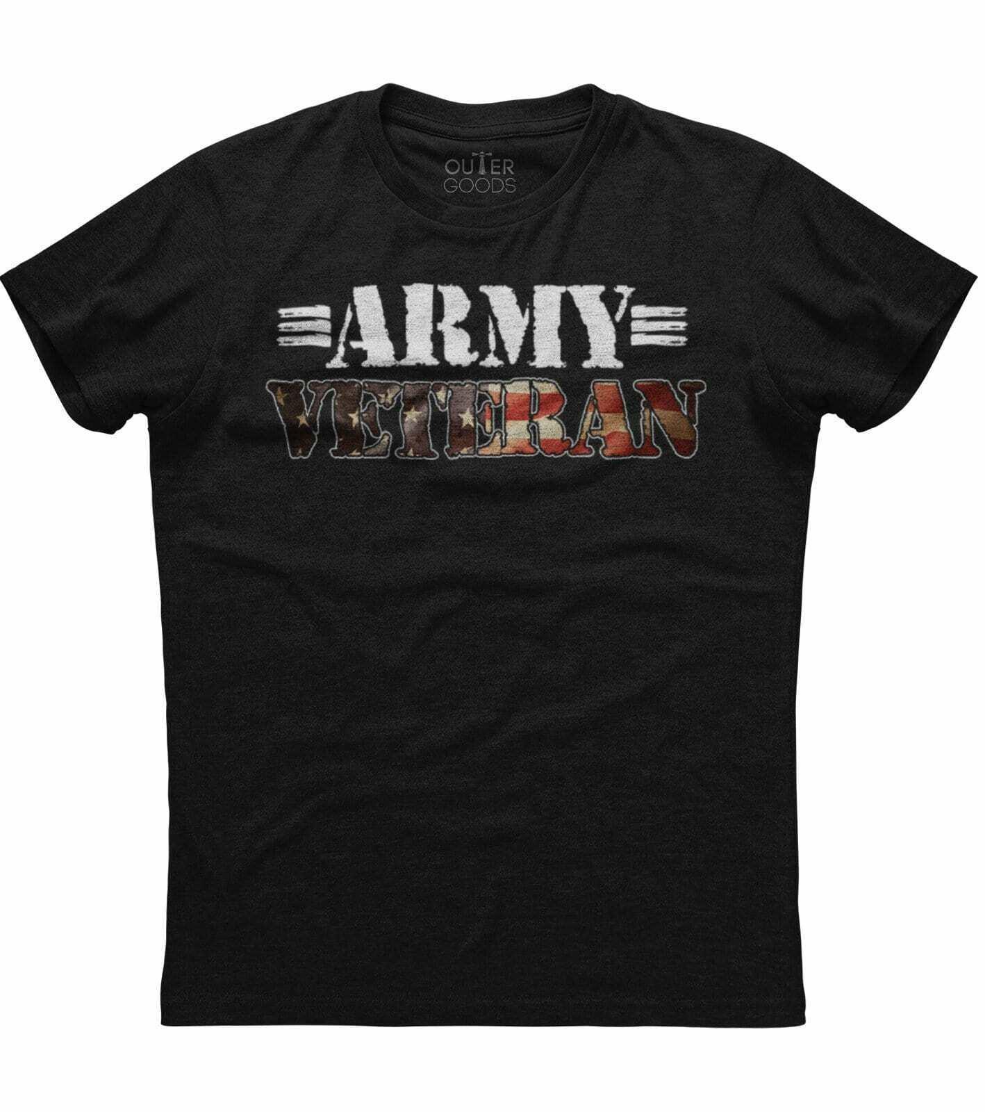 Distressed Print Men'S New Patriotic Trending Black T-Shirt Masswerks Store