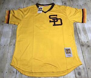 4936dbc1680 New San Diego Padres Tony Gwynn 1982 Mesh Batting Practice Throwback ...