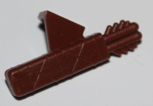 Lego Castle Reddish Brown Quiver Minifig Neckgear NEW