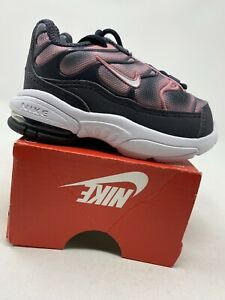 TODDLER GIRL Size 5C 848217-007 Black//Purple//Pink Nike Little Air Max Plus