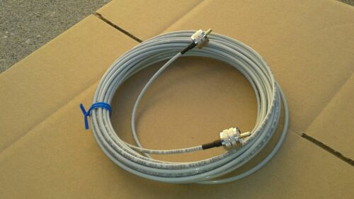 US MADE BELDEN RG-58 PLENUM  PL259 UHF to PL259 HAM CB VHF   50 ohm cable 20 FT