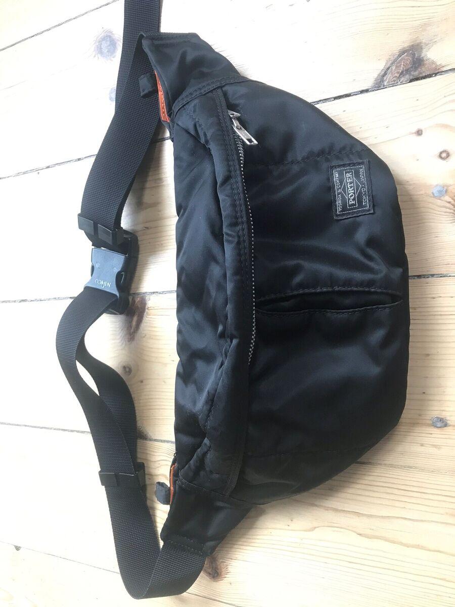 Bæltetaske, Porter, Super fin stand, knap brugt. Japansk