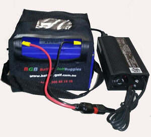 Lithium-BGB-LiFePO4-12-8V-30Ah-Golf-Battery-amp-5A-Automatic-Lithium-Charger