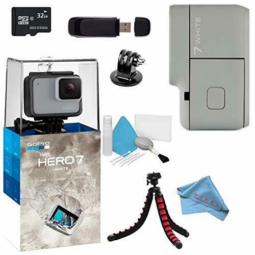 GoPro Hero7 Hero 7 Action Digital Video Camera White Standard Bundle action bundle camera digital gopro hero hero7 standard video white