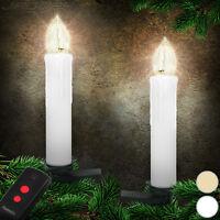 20 30 40 Led Baumkerzen Weihnachtskerzen Lichterkette Christbaum Kerzen Kabellos